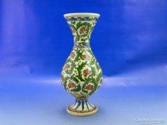0B168 Arab stílusú talpas kerámia váza