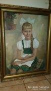 Faragó L portré