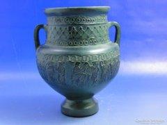 0A983 Görög festett váza kerámia kópia