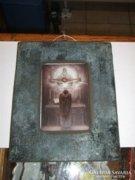 Tejüvegre festett szentkép