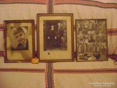 Három darab régi képkeret együtt eladó
