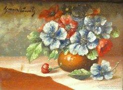 Franz Nowak  - Virág Csendélet