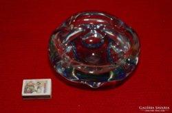 Muranoi üveg jellegű hamutál