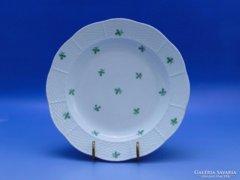 0B504 Antik óherendi porcelán mélytányér