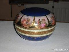 Osztrák porcelán bonbonier