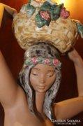 LLADRO porcelán szobor