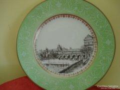 Csehszlovák porcelán falitányér