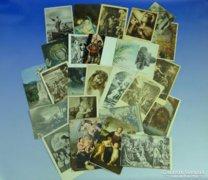 0A931 Régi vallási témájú képeslapok 26 db