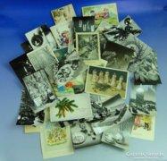 0A934 Régi képeslapok ünnepi üdvözlőlapok 35 db