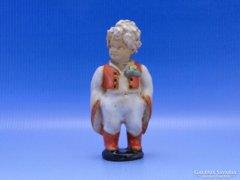 0B797 Szécsi kerámia kisfiú szobor SÉRÜLT