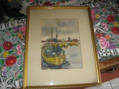 Keller Lívia akvarell eladó