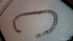 925 -ös ezüst karlánc, karkötő