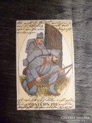 KURIÓZUM I.vh-s képeslap csodálatos állapotban 1915-ből