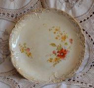 Antik Imperial Bonn fajansz pipacsmintás tányér