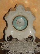 Porcelán kandalló óra!