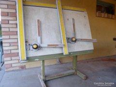 Felújításra szoruló profi tervező asztal, rajzasztal