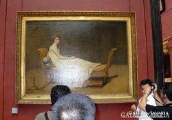 Gyönyörű,régi, nagyon szépen kidolgozott pasztell festmény !