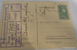 Horthy korabeli Soproni témájú levelező lap (2)