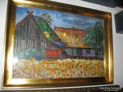 EMIL  KRCHA (1894 - 1972, Polska) , festmény eladó