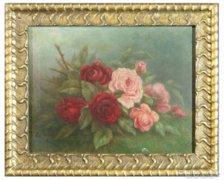 0C204 Gabrielle Kayser (1902-?) : Rózsa csendélet
