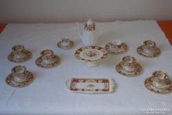 Kuriózum! Royal Albert Lady Hamilton Angol teás/sütis 12 személyes