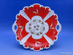 0C012 Régi ST ILMIA porcelán kínáló tál