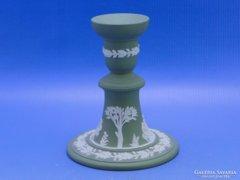 0C102 Jelzett Wedgwood porcelán gyertyatartó
