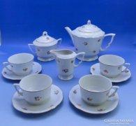 0C150 Régi Zsolnay porcelán teáskészlet
