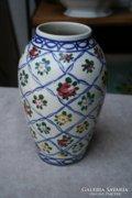 Fischer Emil kézzel festett váza