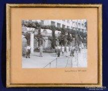 0C172 Régi fekete fehér fotográfia ABBÁZIA 1947