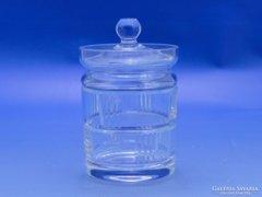 0C301 Fedeles üveg cukortartó cukorkínáló