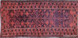 0C530 Gyönyörű antik kézi szövésű perzsa szőnyeg