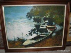 Kovács Tamás Vilmos festménye eladó
