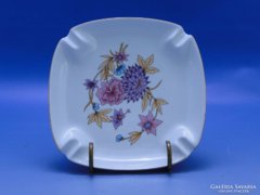0C505 Ovális alakú hollóházi porcelán hamutál