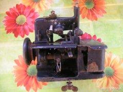 Singer interlock varrógép, antik