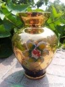Aranyozott padovai váza