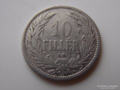 1892 Ferenc József 10 fillér VF RITKA! 01