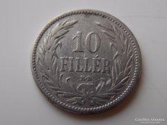 1893 Ferenc József 10 fillér VF 02