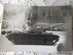 BUDAPEST ALKOTMÁNY U KATONA PARÁDÉ TANK 1941