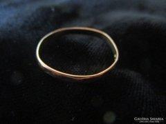 ARANY 14 karátos jelzett arany gyűrű ékszer ékszer