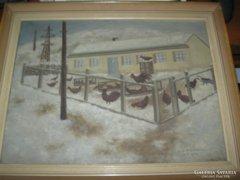 Anna Lukáčová maľba , festmény eladó