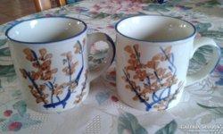 2 db teás bögre, csésze