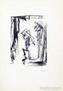 Horváth László (1951) szobrászm. korai grafikái