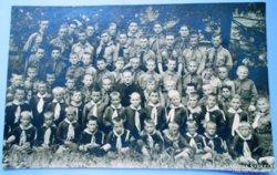 Régi cserkész csoportkép