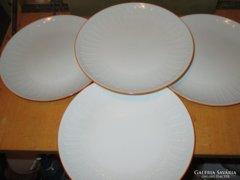 W002 4 db mintás  Jlmenau lapos tányér 23 cm