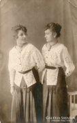 SIKLÓS LEÁNYOK, NÉPVISELET 1917.