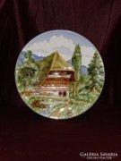 Majolika fali tányér  ( DBZ0059 )