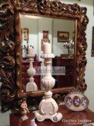 Provence bútor, antikolt Barokk gyertyatartók nagyméretű.