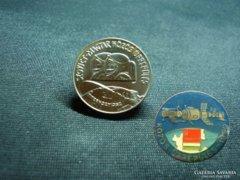 100 Forint 1980 Űrrepülés BU + Kitűző