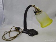 6072 Antik szecessziós gyönyörű asztali lámpa